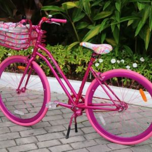 Lilly Pulitzer x Martone Cycling Co. Limited Edition Beach Cruiser Bicycle