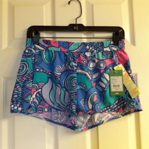 Lilly Pulitzer Multi Sea Jewels Run Around Short XS