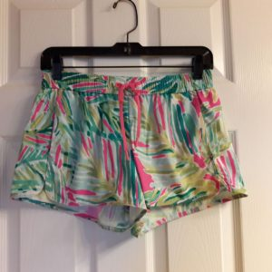 Lilly Pulitzer Tropical Pink Tropical Storm Run Around Short XS