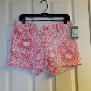 Lilly Pulitzer Resort White Get Spotted Callahan Short Size 2