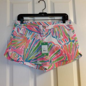 Lilly Pulitzer Resort White Shellabrate Adie Short Size 2