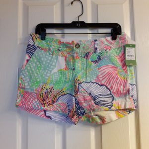 Lilly Pulitzer Multi Roar Of The Seas Callahan Short Size 2
