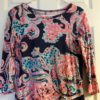 Lilly Pulitzer Bright Navy Pop Up For The Halibut Linden Dress XS