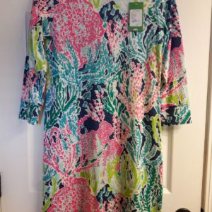 Lilly Pulitzer Indigo Let's Cha Cha Marlowe Dress XS