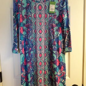 Lilly Pulitzer Multi Sea Jewels Engineered Linden Dress XS