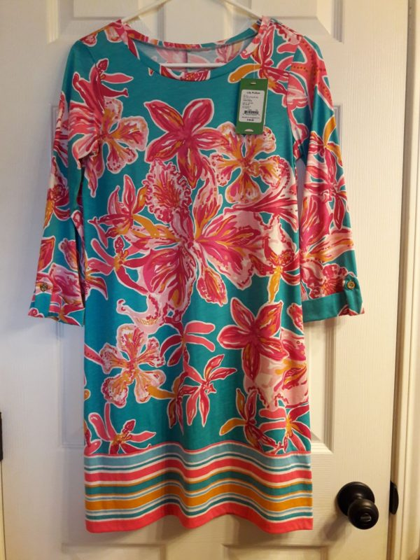 Lilly Pulitzer Sea Blue Via Sunny Linden Dress XS