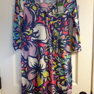 Lilly Pulitzer Tropical Pink Catwalkin Palmetto Dress XS