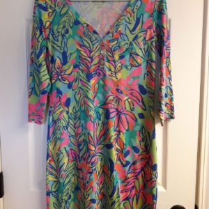 Lilly Pulitzer Multi Hot Spot Palmetto Dress XS