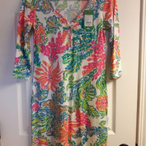 Lilly Pulitzer Resort White Casa Marina Palmetto Dress XS
